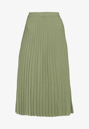 SLFJOSIE MIDI SKIRT - A-line skirt - oil green