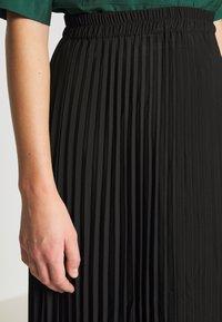 Selected Femme - SLFALEXIS MIDI SKIRT - A-line skirt - black - 4