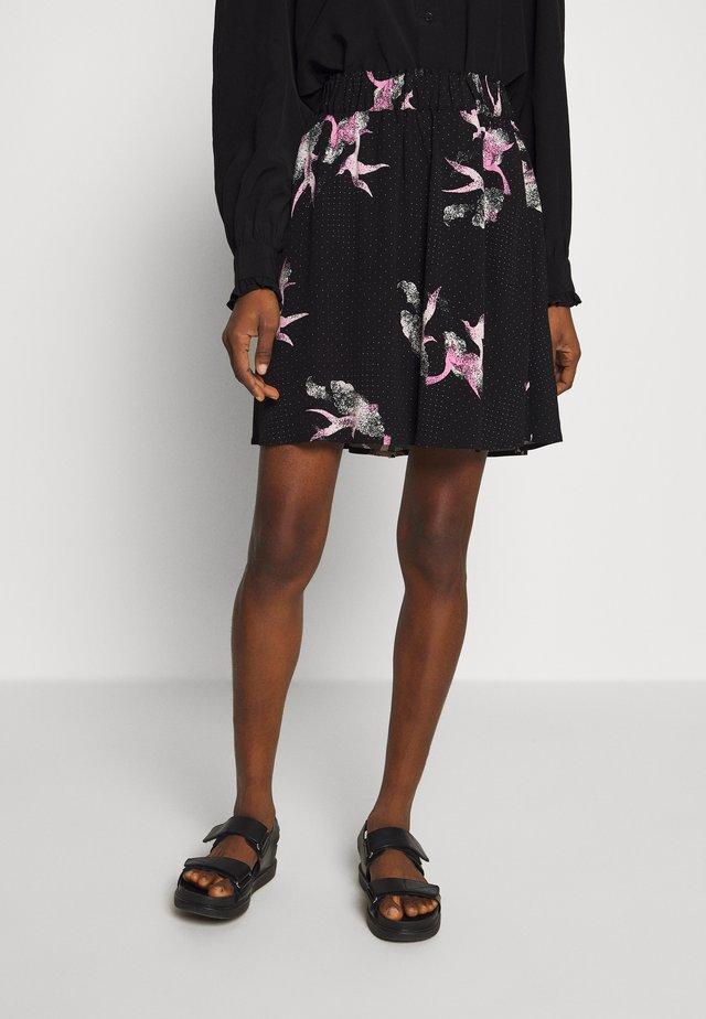 SLFALLISON SKIRT  - Spódnica mini - black
