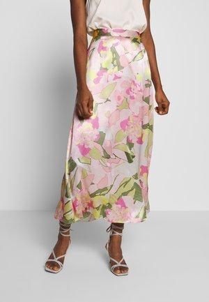 SLFMOLA ANKLE SKIRT - A-line skirt - pink