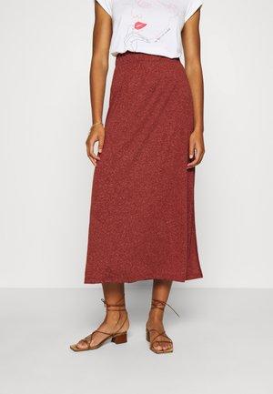IVY ELLA ANKLE SKIRT  - A-line skirt - red