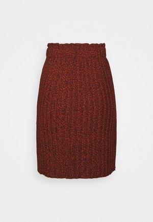 SLFKINSLEY SHORT PLISSE SKIRT - Pliceret nederdel /Nederdele med folder - red