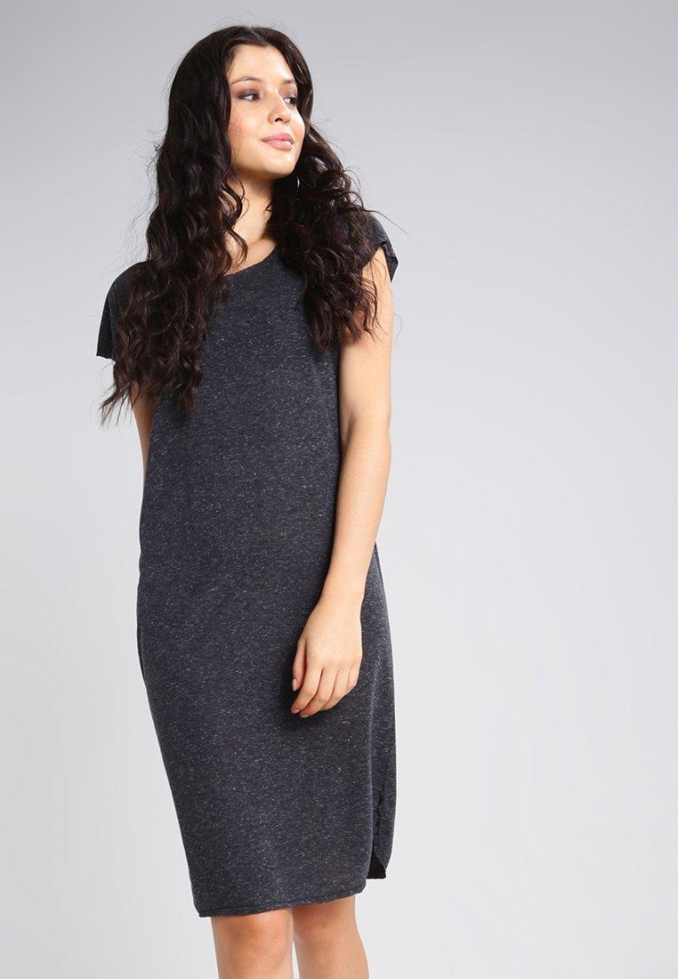 Selected Femme - SFIVY KNEE DRESS - Trikoomekko - black