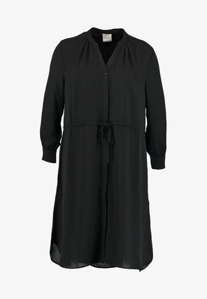 SFDAMINA 7/8 DRESS - Robe chemise - black
