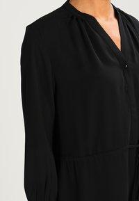 Selected Femme - SFDAMINA 7/8 DRESS - Abito a camicia - black - 4
