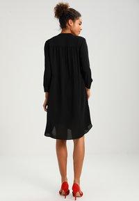 Selected Femme - SFDAMINA 7/8 DRESS - Abito a camicia - black - 3