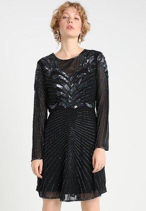 SLFJUNA BEADED SHORT DRESS - Cocktailklänning - black
