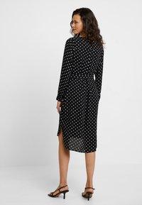 Selected Femme - SLFDYNELLA - Košilové šaty - black - 2