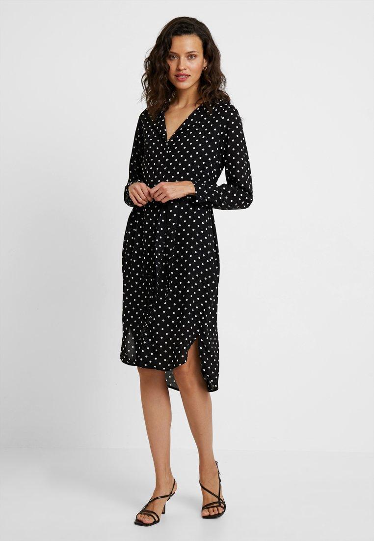 Selected Femme - SLFDYNELLA - Košilové šaty - black
