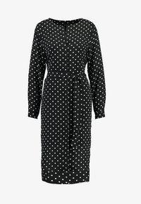 Selected Femme - SLFDYNELLA - Košilové šaty - black - 4