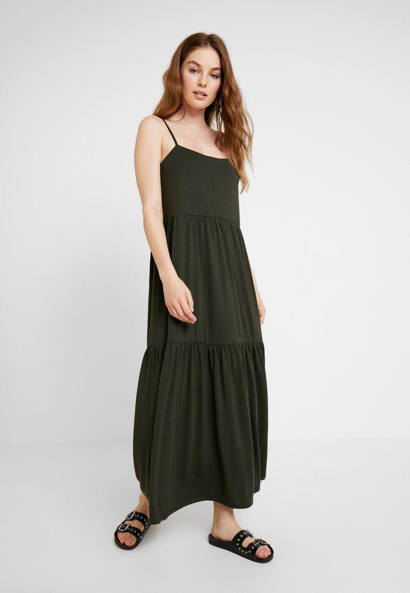 Selected Femme - SLFAIA STRAP DRESS - Jersey dress - rosin
