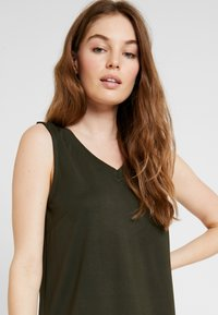 Selected Femme - SLFAIA V NECK DRESS - Jerseyjurk - rosin - 4