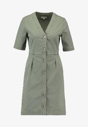 SLFLISE DRESS - Shirt dress - deep lichen green