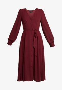 Selected Femme - SLFZENA MIDI DRESS - Kjole - cabernet - 5
