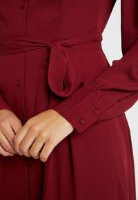 Selected Femme - SLFZENA MIDI DRESS - Kjole - cabernet - 6
