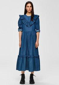 Selected Femme - Spijkerjurk - dark blue - 0