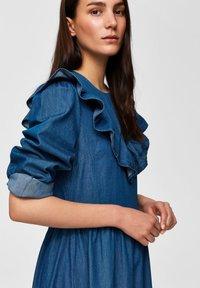 Selected Femme - Spijkerjurk - dark blue - 3
