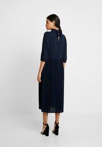 Selected Femme - SLFBETHANY MIDI DRESS - Day dress - night sky - 3