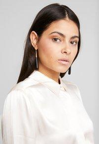 Selected Femme - SLFAUDREY ODETTE - Button-down blouse - sandshell - 5