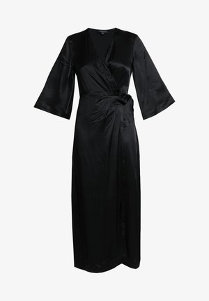 SLFDAKOTA ANKLE WRAP DRESS CAMP - Robe d'été - black