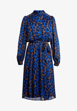 SLFINGER MIDI DRESS - Sukienka letnia - dark sapphire
