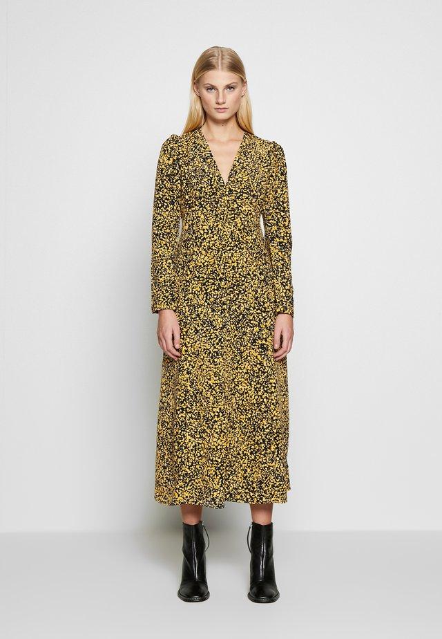 SLFJUANA ANKLE DRESS - Korte jurk - dark sapphire/juana