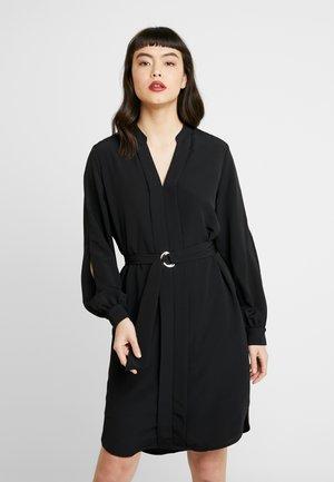 SLFJADE DYNELLA SHORT DRESS - Day dress - black