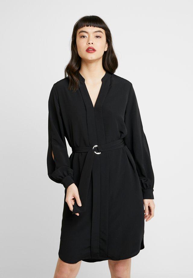 SLFJADE DYNELLA SHORT DRESS - Korte jurk - black