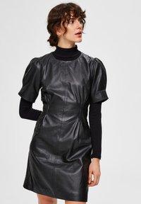 Selected Femme - Day dress - black - 0