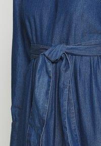 Selected Femme - SLFALINA DRESS - Denim dress - dark blue - 4