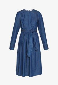Selected Femme - SLFALINA DRESS - Denim dress - dark blue - 3
