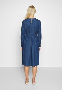 Selected Femme - SLFALINA DRESS - Denim dress - dark blue - 2