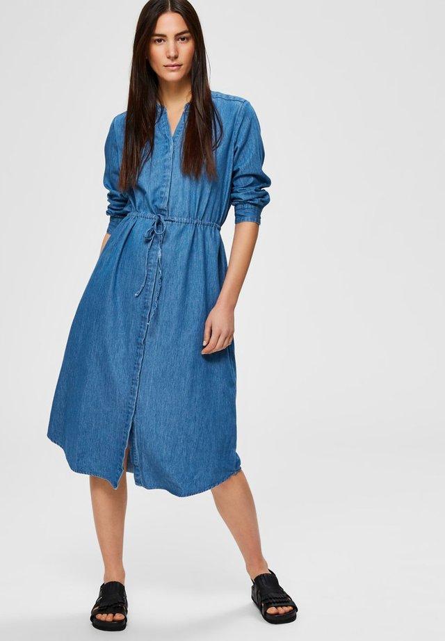 Sukienka letnia - medium blue denim