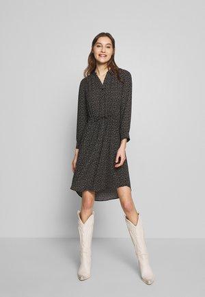 SLFFLOWER DAMINA DRESS - Denní šaty - black