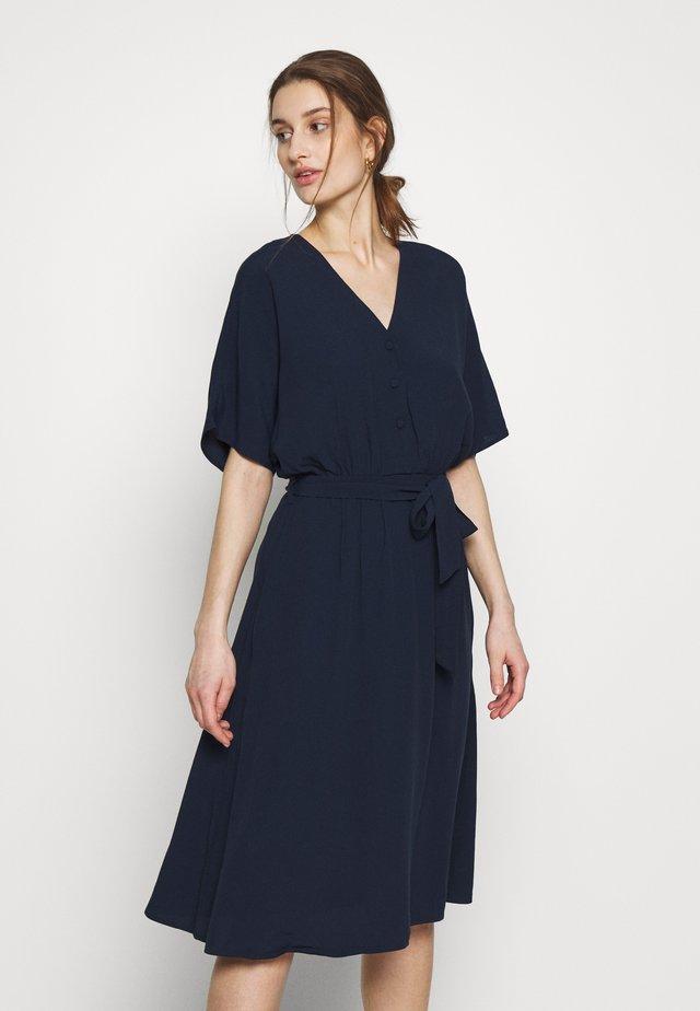 SLFVIENNA SHORT DRESS  - Vardagsklänning - dark sapphire