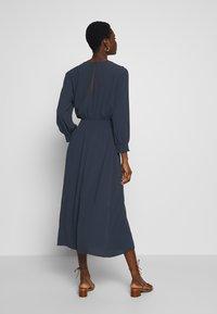 Selected Femme - SLFALLISON-VIENNA MIDI DRESS - Sukienka letnia - night sky - 2