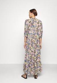 Selected Femme - SLFMADISON 3/4  ANKLE DRESS - Shirt dress - multi-coloured - 2