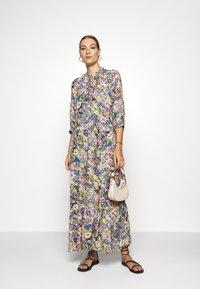 Selected Femme - SLFMADISON 3/4  ANKLE DRESS - Shirt dress - multi-coloured - 1
