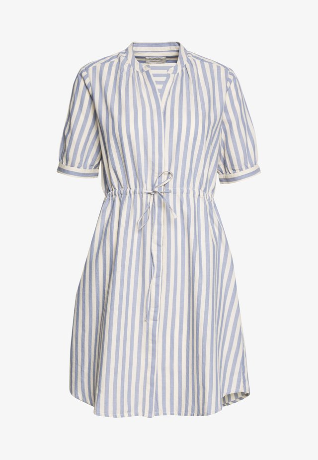 SLFZENIA DRESS PETITE - Shirt dress - country blue/sandshell