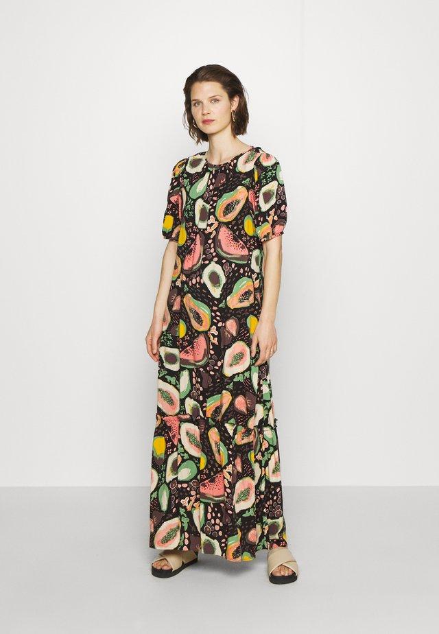 SLFFRUTTI GRACY DRESS - Długa sukienka - black