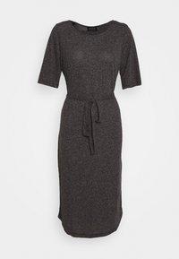 Selected Femme - SLFIVY BEACH DRESS - Jerseyjurk - black - 0