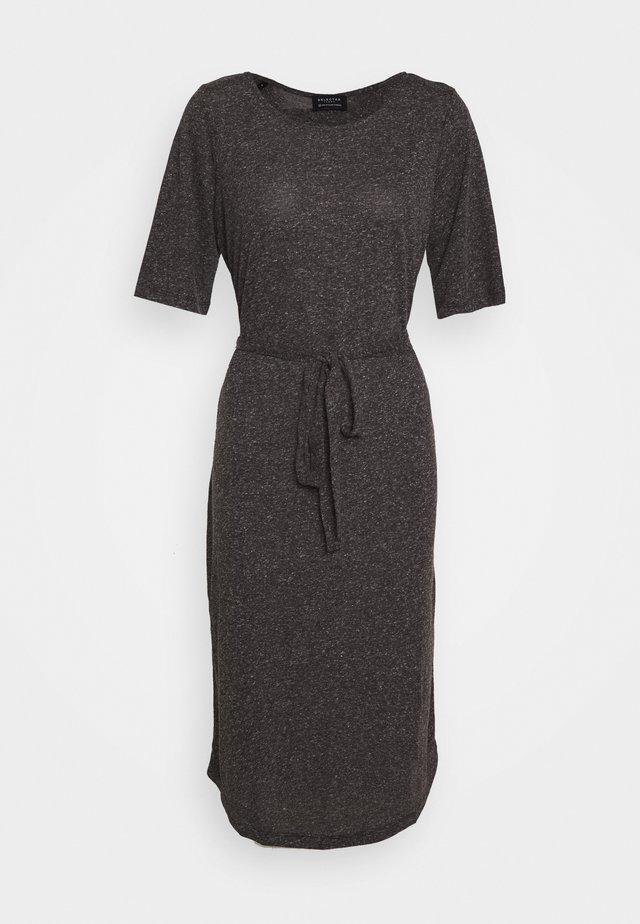 SLFIVY BEACH DRESS - Jerseyjurk - black