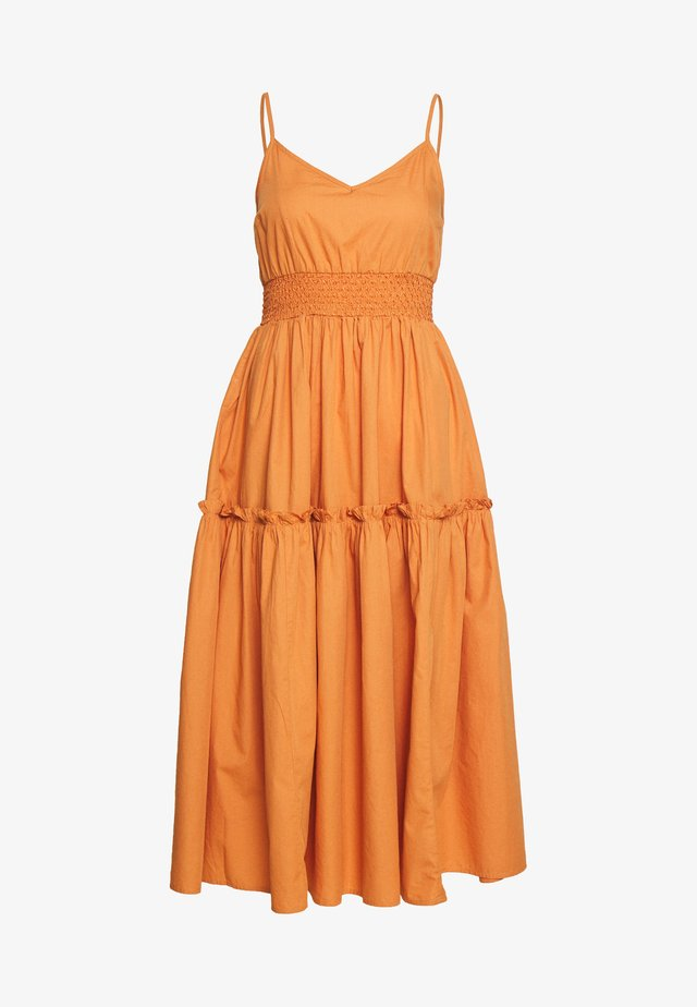 SLFCARLOTTA  - Day dress - caramel
