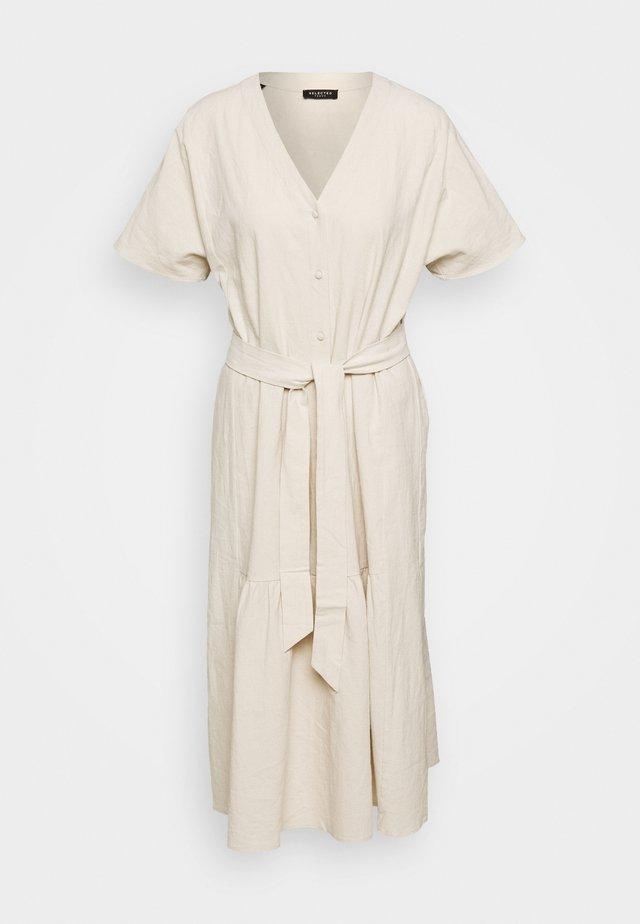 SLFMIONI MIDI DRESS - Korte jurk - sandshell