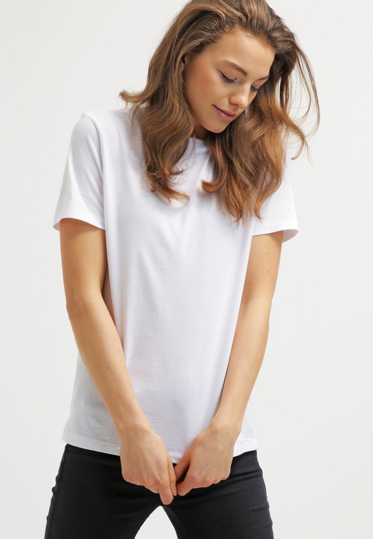 Selected Femme - PERFECT - T-shirt basique - bright white