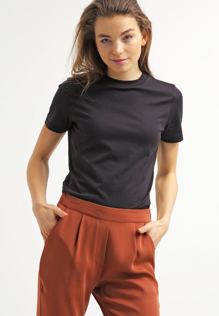 Selected Femme - PERFECT - Basic T-shirt - black