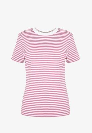 SFMY PERFECT TEE BOX CUT - T-shirt print - heather rose/snow white
