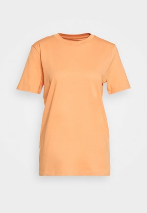 SFMY PERFECT TEE BOX CUT COLOR - T-Shirt basic - caramel