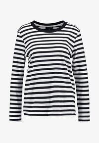 Selected Femme - SLFSTANDARD SEASONAL - Long sleeved top - black/bright white - 4