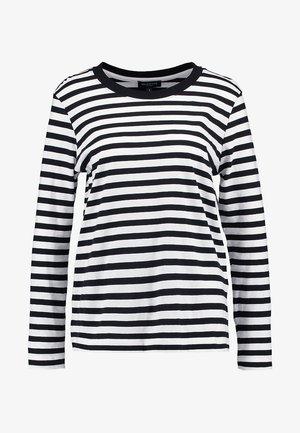 SLFSTANDARD SEASONAL - Bluzka z długim rękawem - black/bright white